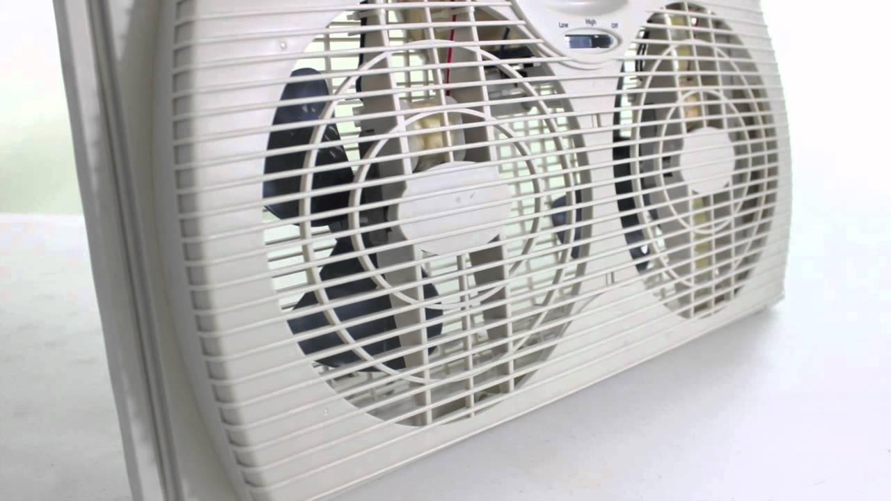 Holmes Twin Window Fan Hawf2021tg Youtube Kenmore Box Wiring Diagram