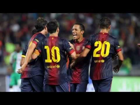 Raja Casablanca - Barcelona (0-8) All Goals Full Match Highlights 28.07.2012 Messi Hattrick