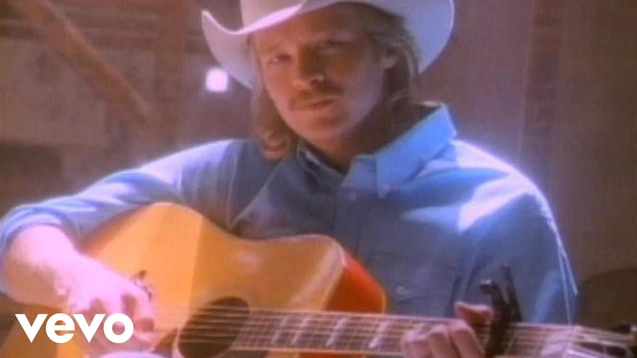Alan Jackson Wanted Official Music Video Youtube