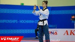 CHÂU TUYẾT VÂN | Chung kết Giải vô địch quyền Taekwondo châu Á 2018