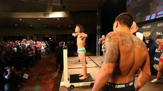 The Ultimate Fighter 13 Finale: Guida vs Pettis Weigh-in Highlight
