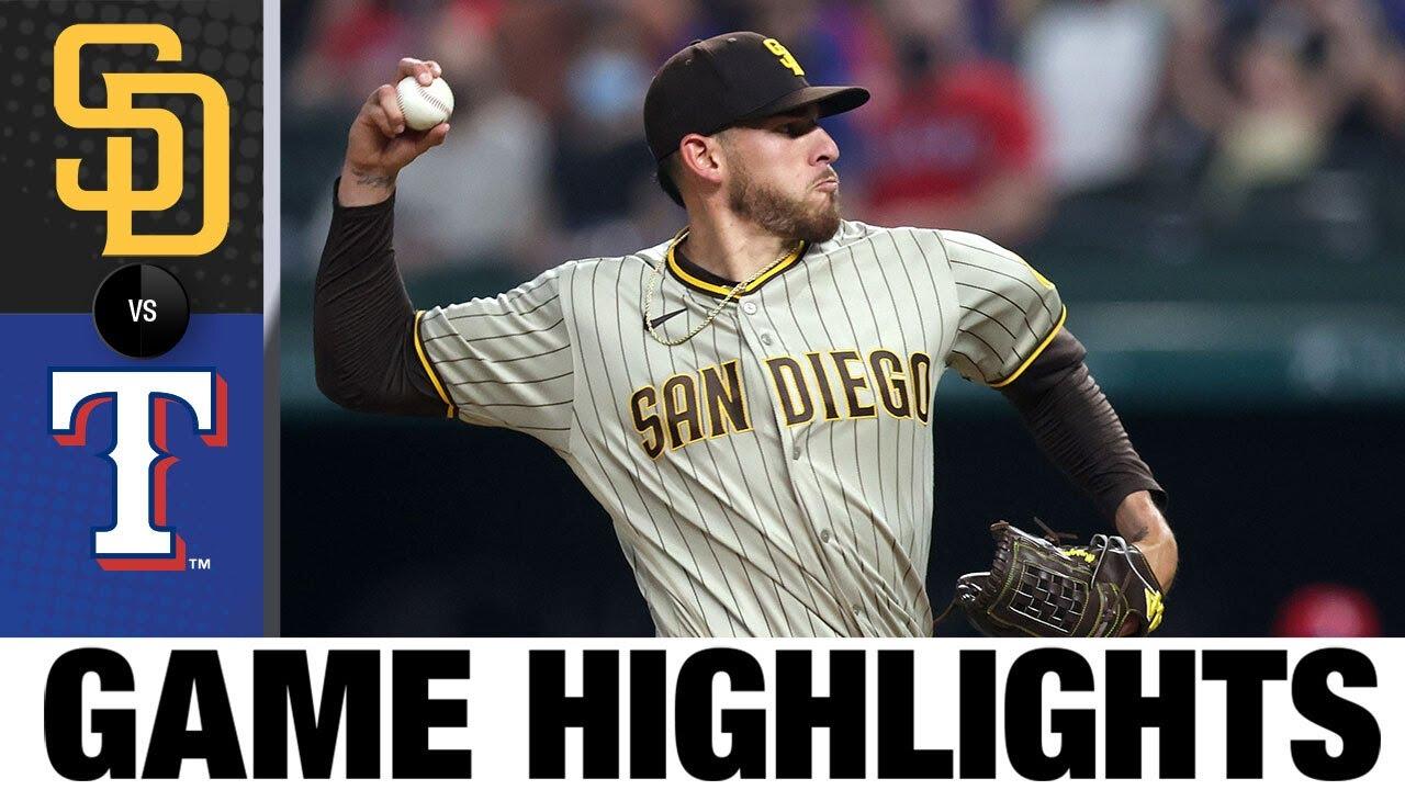 Download Padres vs. Rangers Game Highlights (4/9/21)   MLB Highlights
