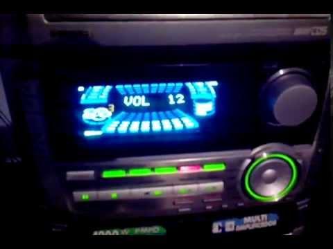 Aiwa NSX-F969 Com Placa De Leds