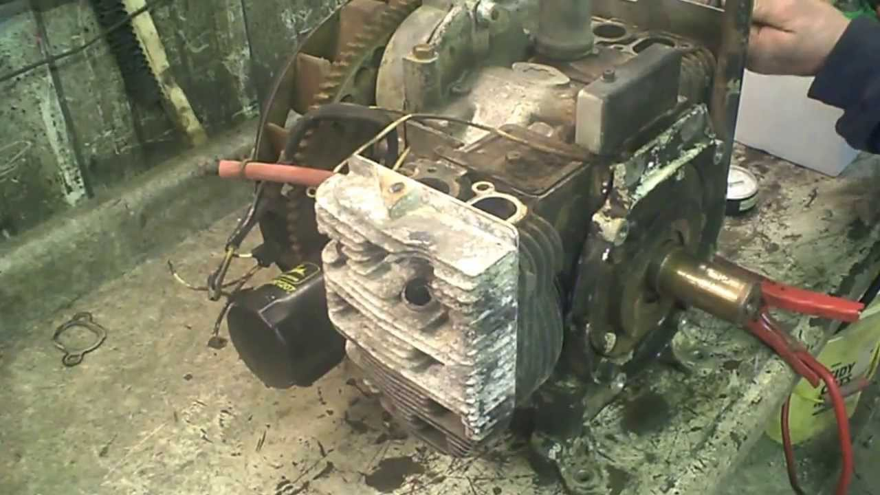 318 Engine Ignition Diagram Lot 1789a John Deere 318 Onan B43g Engine Compression Test