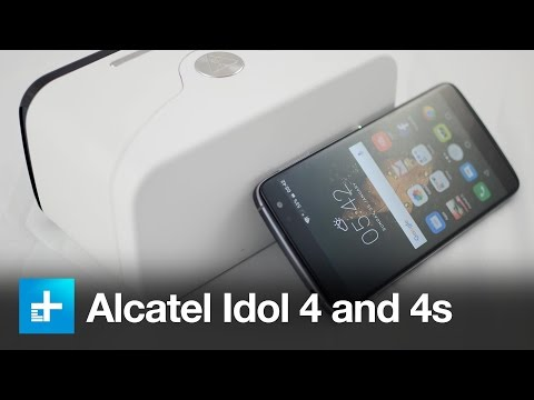 Alcatel Idol 4 and 4s - Hands On