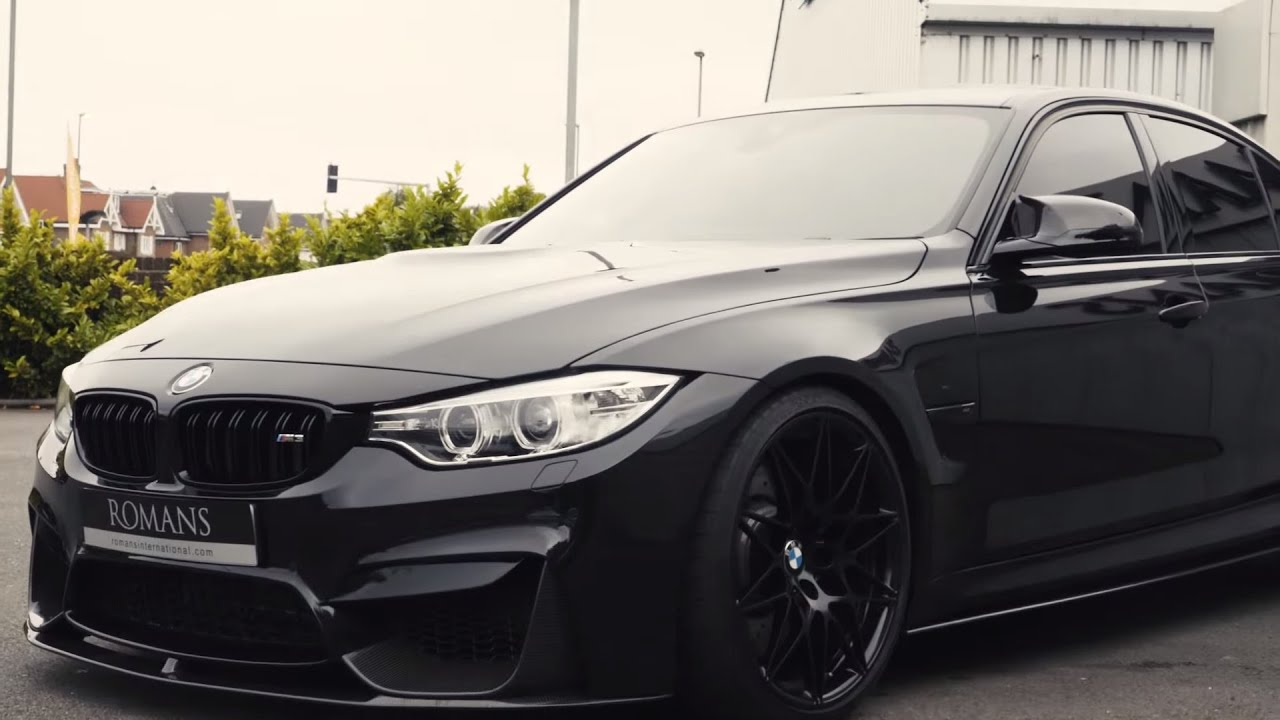 Oem Bmw Wheels >> The Ultimate All Black BMW M3 Competition Pack! - YouTube