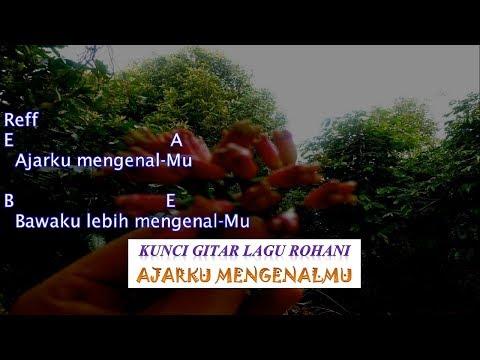 AJARKU MENGENALMU - NIKITA (cover) - Kunci gitar dan lirik lagu rohani Kristen