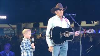 George strait Moving Performance Of 'God and Country Music' at 2019 ACM Awards-