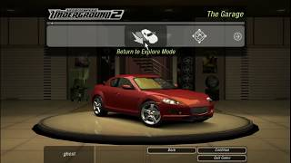tutorial: Need for Speed Underground 2  16:9 Patch Windows 10Deutsch