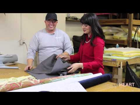 The Upholstery Shop: How to Choose Fabric | withHEART