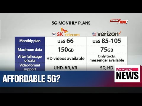 S. Korean telecom firms set to launch low-budget 5G mobile plans