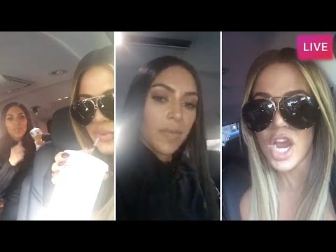 Kim Kardashian | Instagram Livestream | MAY 16 (with Khloe Kardashian)