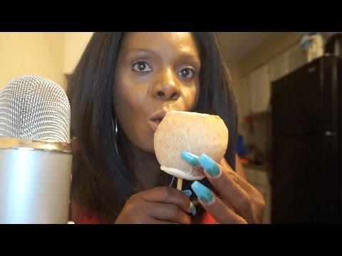 🍬🍎 Caramel Cinnamon Sugar ASMR Candy Apple👅 Oh My Chocolate 🍫