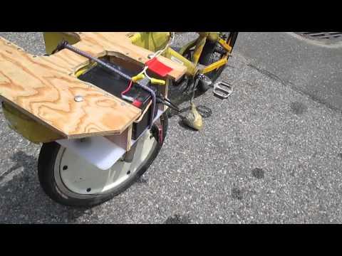 Walk-Around of the Yellow Utility Bike
