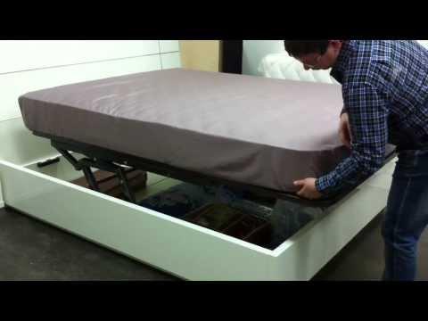 Кровать с подъемным