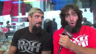 The Briscoe Brothers Interview from MCU Park 8/1/14