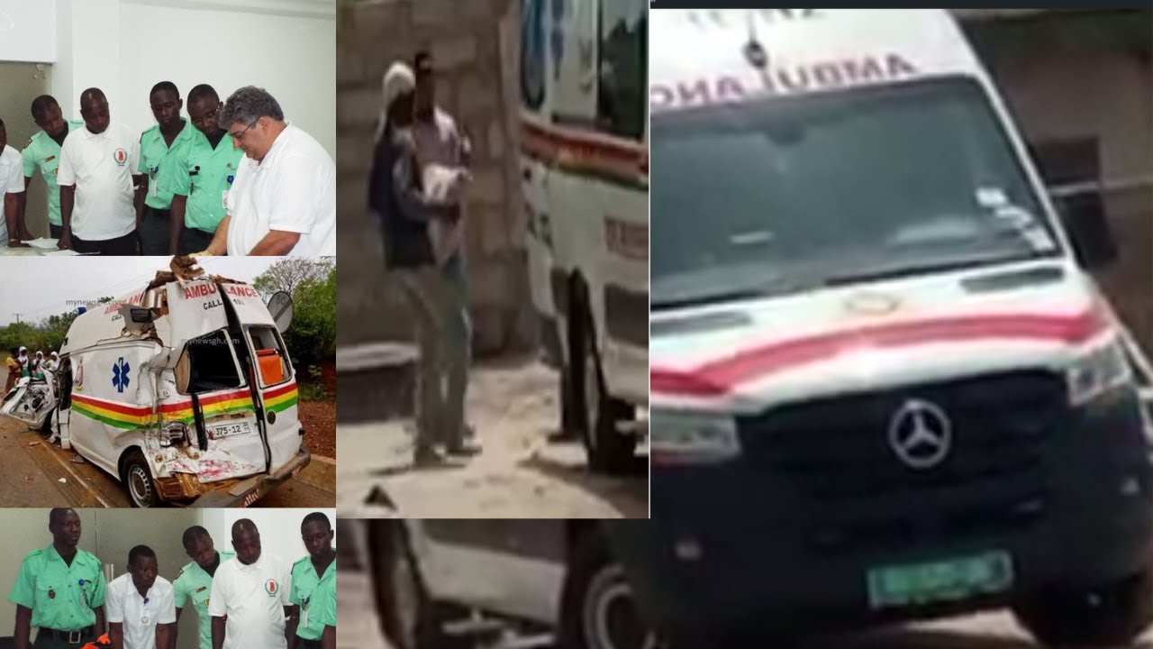 Download Kaishh🔥..Ghana Ambulance Service in Tr0uble for using their Ambulance to carry Cement Bags💥💥