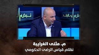 م. مثنى الغرايبة - نظام قياس الرضى الحكومي
