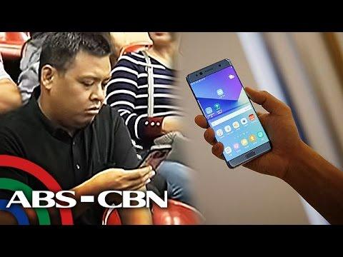 TV Patrol: Samsung, ipinapasauli ang mga nabiling Galaxy Note 7