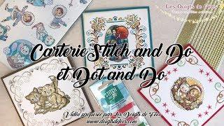 [Tuto / DIY] Carterie Stitch and Do et Dot and Do - Les Doigts de Fées