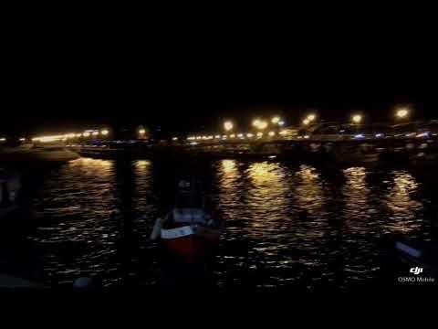Puerto de Punta Del Este Uruguay. Dji Osmo Mobile