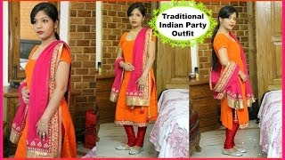 Traditional Indian Party Outfit   Indian Clothing   Salwar Kameez   SuperPrincessjo