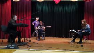 Jingle Bell Rock (без соло-гитариста) - первая репетиция
