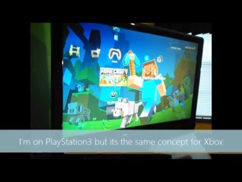 how to play splitscreen on minecraft xbox 360 offline