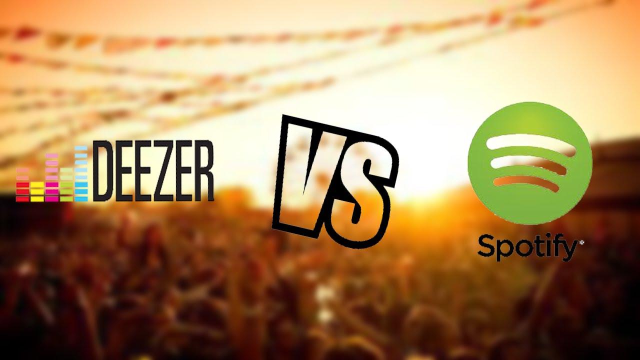 Deezer Vs Spotify
