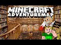 3 Idioten in der Bibliothek 🎮 Adventure-Map Parkour Paradise 2 #14