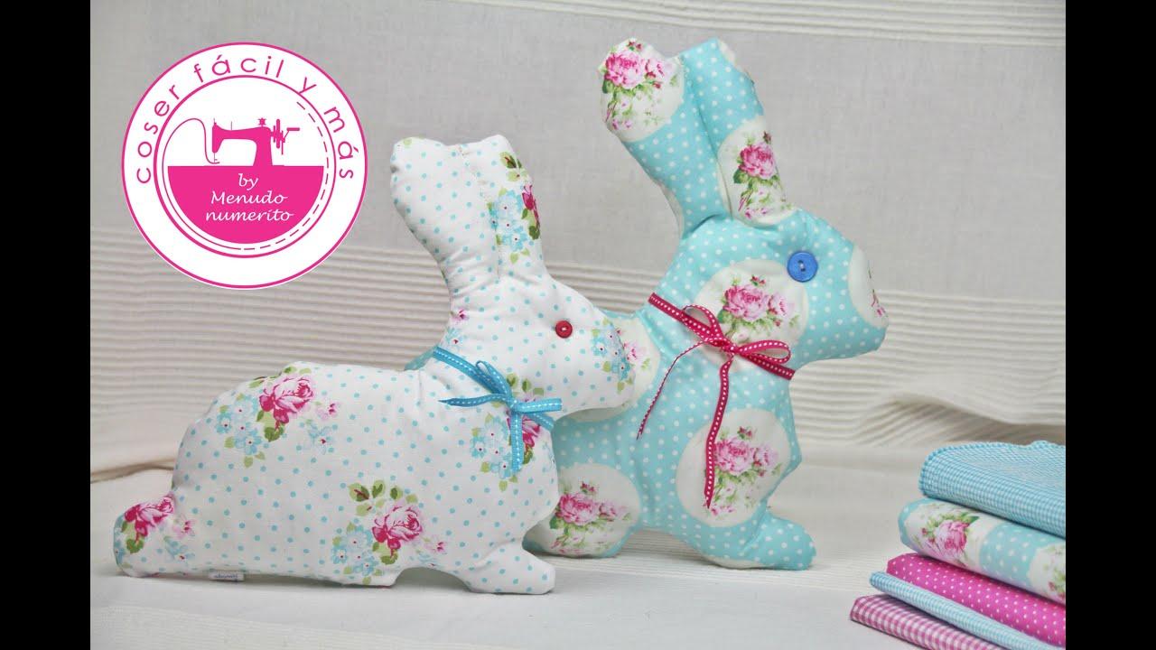 Cómo hacer muñecos de trapo, conejos de trapo - YouTube