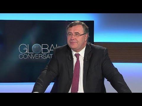 """Patrick Pouyanné : """"L'élection de Macron est un saut dans la modernité"""" - global conversation"""
