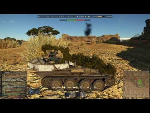 War Thunder: Episode 43 | Second battle of el Alamein - SPAA (no. 2-7 kills)