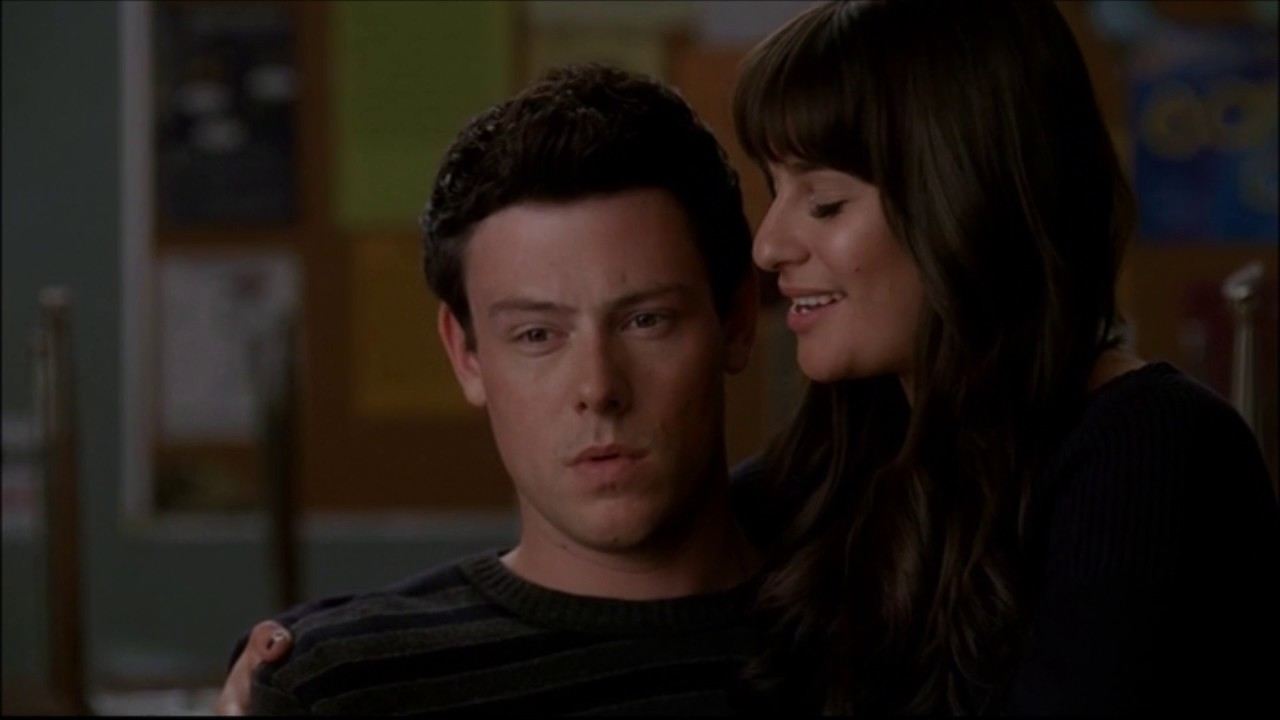 did rachel and finn dating in real life