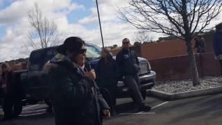 Tribal Delegates to BLM - Enough! Stop Chaco Sale! Clip 3