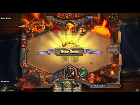 How to beat Baron Geddon Normal | Hearthstone: Blackrock ...