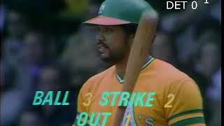 1972 ALCS TIGERS VS A