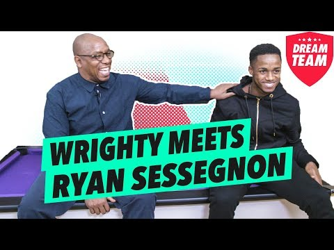 Losing friends, England ambitions & cage football | Wrighty meets Ryan Sessegnon