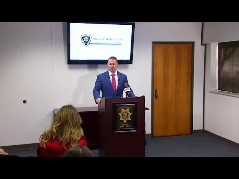 Sheriff Will Lewis updates on deputy-involved shooting