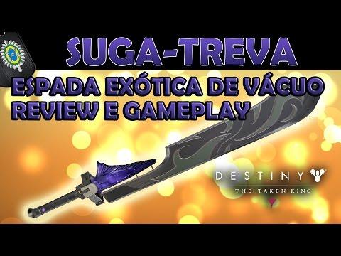 Desyiny TTK - Suga Treva Review! Espada Exótica de Vácuo!