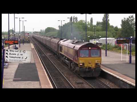 Rail Freight activity during a day at Barnetby & Melton Ross in North Lincolnshire [2015]