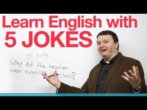 Học tiếng Anh với 5 câu truyện cười