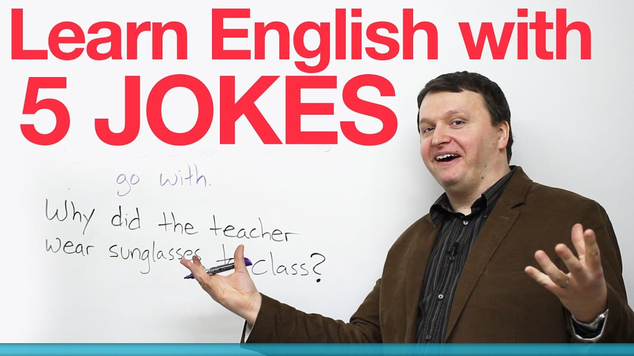 Learn English with 5 Jokes - YouTube