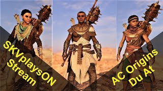 SKVplaysON - AC Origins - Stream - Getting to the 4th After Life, [ENGLISH] PC Gameplay