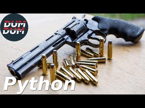 Colt Python opis revolvera (gun review, eng subs)