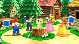 Mario Party 9 Garden Battle - Mario vs Waluigi vs Yoshi vs Koopa| Fun Mario Game for Kids