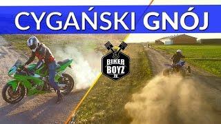 Yamaha Raptor 700 VS. Kawasaki 636 -  Quad kontra Motocykl - Riding Movie