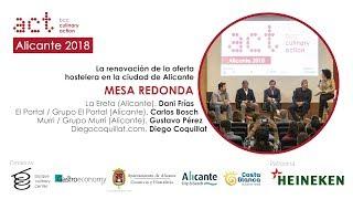 Culinary Action! Alicante- Mesa redonda