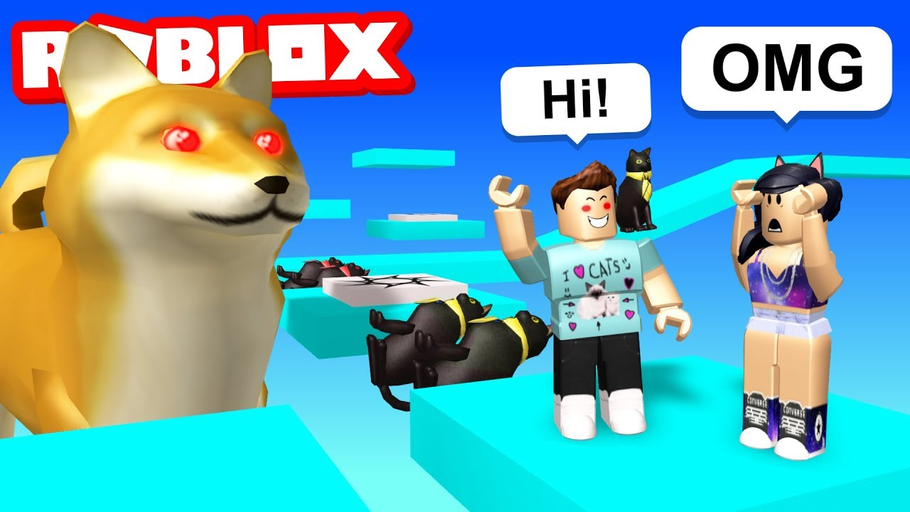 Playing My Fan S Roblox Game Youtube
