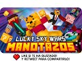 A MANOTAZOS! | Minecraft Lucky Blocks Skywars - Exo, Macundra, Sarinha y Luh